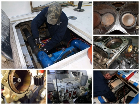 Engine repair and maintenance done by Northshore Yachtworks